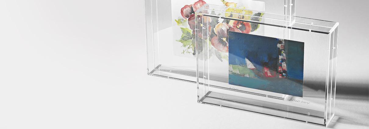 Wohnaccessoires aus Acrylglas