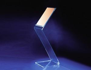 Messe und Ladenaufsteller aus Acrylglas