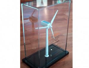 Windradmodel aus Acrylglas