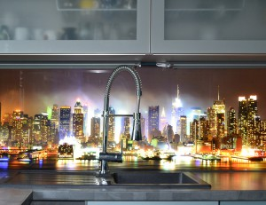 Küchenblock mit LED Technik