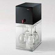 AVitobox in Schwarz mit Glas
